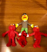 Two Elmo's, Bert, Clifford bundle  Derwood, 20855