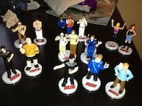 assorted plastic figures