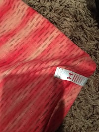 red and white striped textile Lethbridge, T1K 5S6