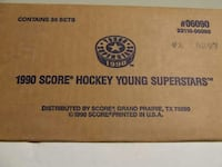 1990 Score Young Superstars Sealed Factory Case Sioux Falls, 57106