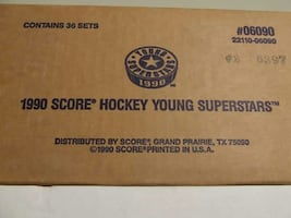 1990 Score Young Superstars Sealed Factory Case