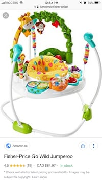 Fisher Price Jumparoo Toronto, M2P 1G4