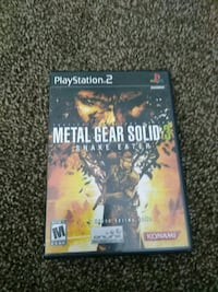 Ps2 Metal Gear Solid 3 game.???? Fresno, 93726