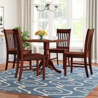 Round Dining Table and 4 Chairs ARLINGTON
