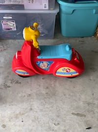 toddler's red and blue ride on toy Austin, 78660