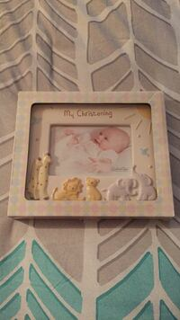 My Christening Picture frame