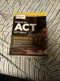 Cracking the ACT test book