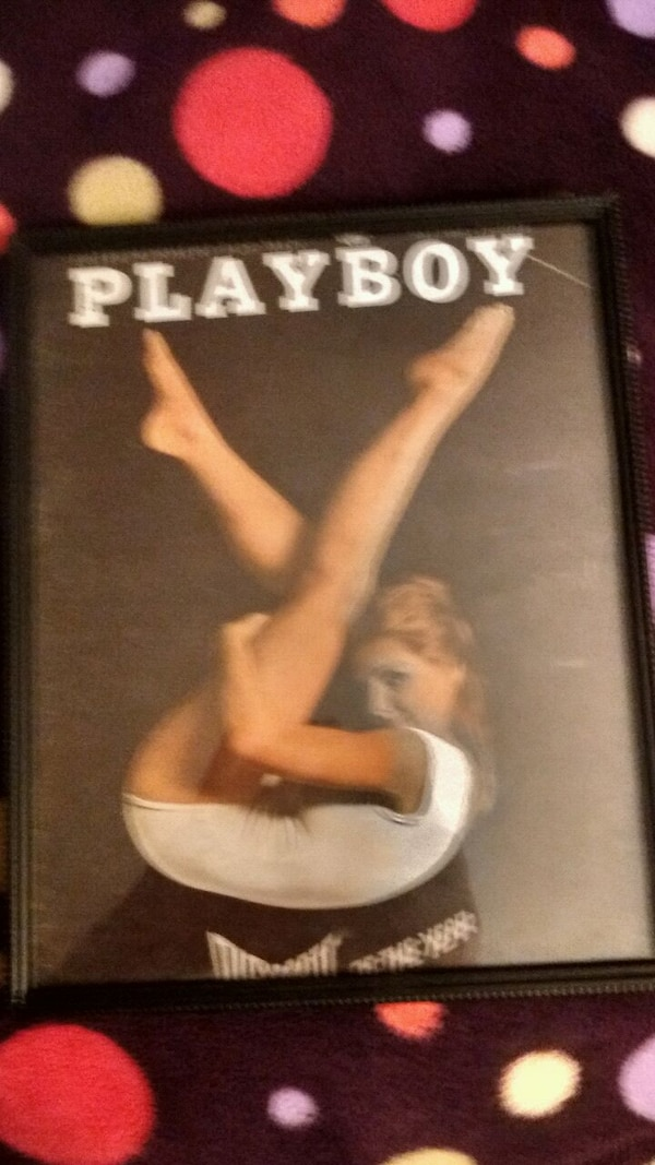 Selling a Playboy picture in frame 03dba026-a5fa-4bb6-a366-8f47342488dc