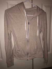 gray zip-up hoodie Fort Campbell, 42223