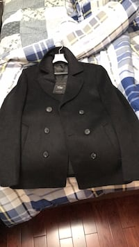 Unworn Mens Wool Coat (SMALL)  Vaughan, L4J 8Y8