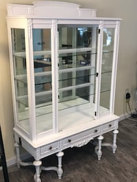 White Antique Edwarian Cabinet Kings County