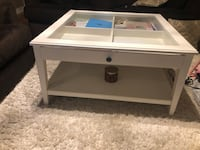 White ikea coffee table (LIATORP)