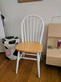 white-and-brown wooden windsor chair Baltimore, 21210