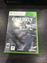Xbox 360 call of duty ghosts  Vaughan, L4J