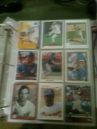 Baseball cards. Some black and white Zanesville, 43701