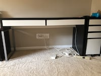 IKEA desk with drawers and file cabinet Falls Church, 22043