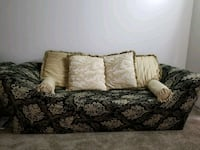 brown and green floral fabric sofa Renton, 98055