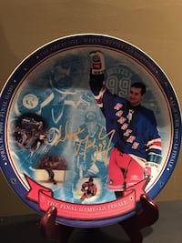 Wayne Gretzky collector plate 553 km