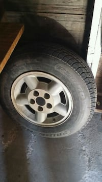gray 5-spoke vehicle wheel and tire Great Bend, 67530