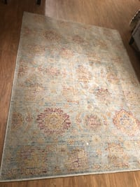 Multi color floral area rug.   Alexandria, 22304