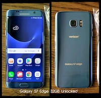 Galaxy S7 Edge 32GB UNLOCKED w/ Accessories  Arlington