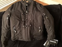 Brand new women's padded motorcycle jacket