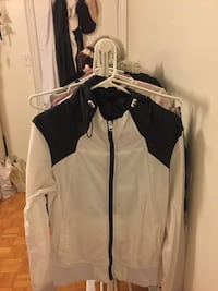 white and black zip-up jacket Vaughan, L4L 9B3