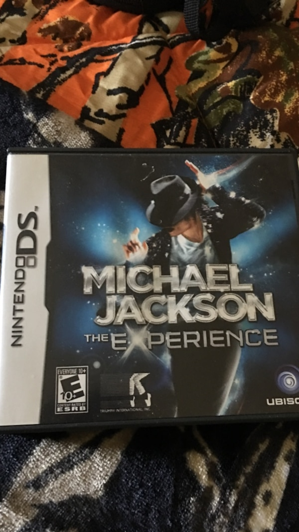 Michael Jackson The Experience Nintendo DS game case