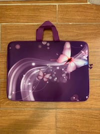 Butterfly Laptop Carrying Case Cover Bag (Purple)  Uniondale, 11553