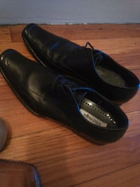 pair of black leather dress shoes Hazelwood, 63042