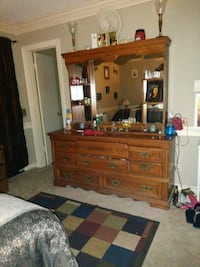 Bed and dresser as set or seperate Marion, 72364