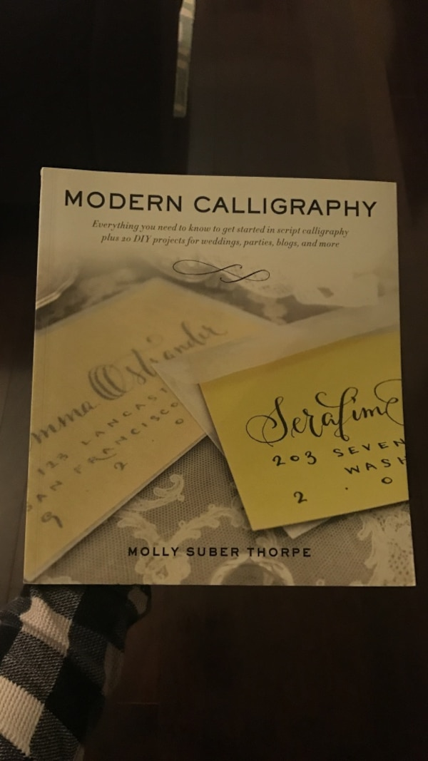 Used Modern Calligraphy Box For Sale In New York Letgo