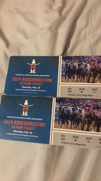 2 Kacey Musgraves rodeo tickets  Alvin, 77583