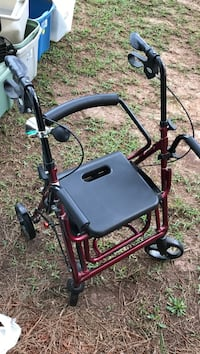 black and red rollator walker Clayton, 27527