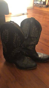 Black boots size 12 men Houston, 77004