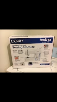 Brother electric sewing machine box 23 km
