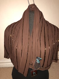 special event brown shawl/scarf Grand Prairie, 75052