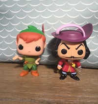 Funko POP Peter Pan and Hook Winter Haven, 33884