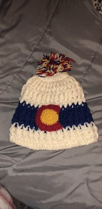 Knitted Colorado hat worn once