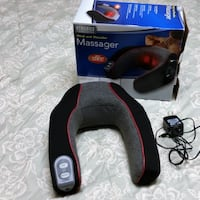 Neck and Shoulder Massager With Heat Silver Spring