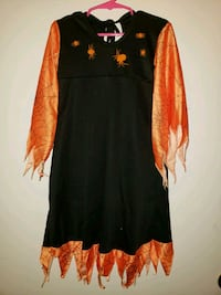 Children's Witch Costume Dress with Spiders - Girl Queen Creek, 85142