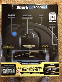 Shark RV1001AE IQ Robot Vacuum w/Self-Empty Base, Wi-Fi Connected Stamford, 06902