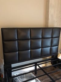 Modern Leather Headboard/Frame For Sale 45 km
