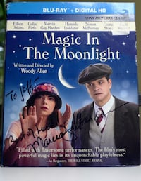 Woody Allen's Magic in the Moonlight- Colin Firth, & Marcia Gay Harden Bethesda, MD, USA