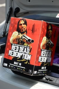 Red Dead Redemption promo box Columbia, 21045
