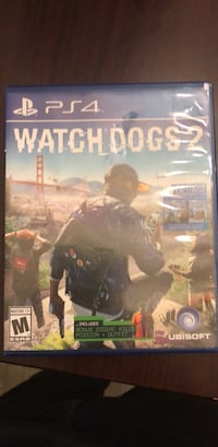 Watch Dogs 2 PS4 game case Memphis, 38134