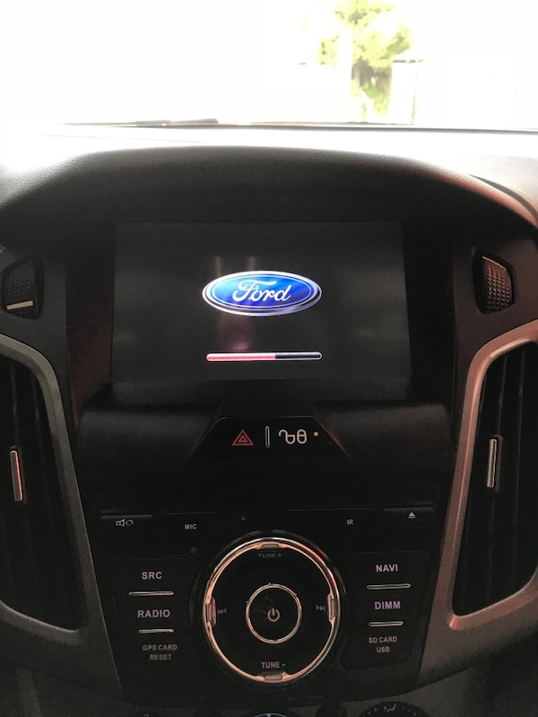ford focus double teyp