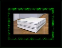Queen mattress double pillow top with box spring Ashburn