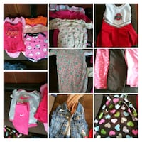 6-9 month baby girl clothes Painesville, 44077