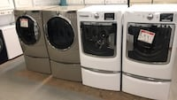 Front Load washer and dryer set with pedestal  Reisterstown, 21136